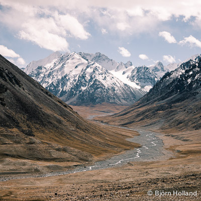 Fine-Art Print of Karakorum Mountains, China