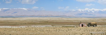 Panorama Fine-Art Print of Pamir Mountains, Tajikistan