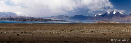 Panorama Fine-Art Print of Lake Karakol, Pamir Mountains, Tajikistan