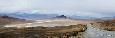 Panorama Fine-Art Print of Pamir Highway, Tajikistan