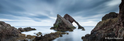 Fine-Art Print Of Bow Fiddle Rock