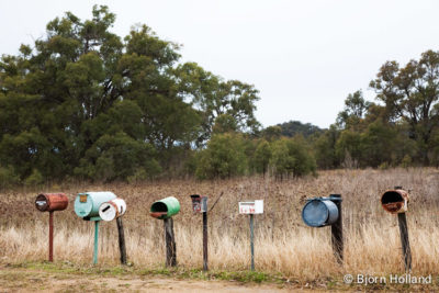 Fine-Art Print Of Mailboxes