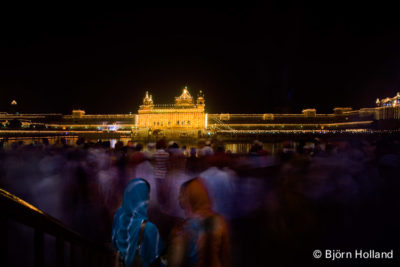 Fine-Art Print Of Diwali (Indian New Year) at the Golden Temple