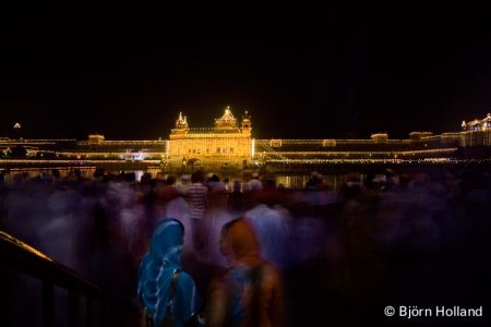 Fine-Art Print of Diwali (Indian New Year) at the Golden Temple, Amritsar, India